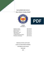 makalah Manajemen Keuangan