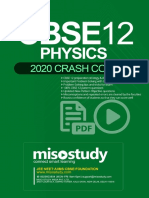 Crash Course CBSE PCM Sample eBook