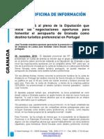 Fomento del turismo portugués en Granada