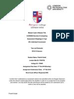 2018-19 a CC5004NI A1 CW Coursework 17030793 Prakriti Kadel
