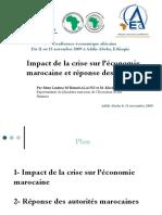 2009_aec-_impact_de_la_crise_sur_leconomie_marocaine_et_reponse_des_autorites.ppt