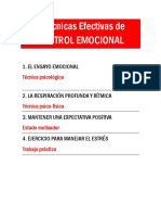4 Tecnicas de Control Emocional.pdf · Versión 1