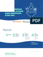 Como Otimizar Sites - CRO