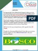 AC EXAM PDF 2019 - LIC Assistant Main Exam(Jan-Dec14th) by AffairsCloud.pdf