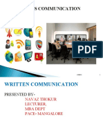 Written Business Communication
