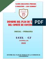 INFORME FINAL PLAN DE CONTINGENCIA FINAL