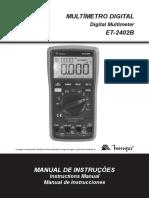 ET-2402B-1101-BR_manual do multímetro