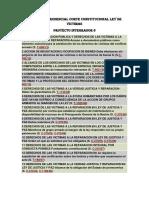 Línea Jurisprudencial Corte Constitucional Ley de Victimas