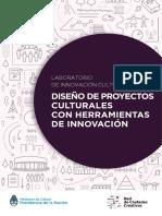 diseño de proyectos culturales con herramientas de innovación