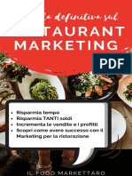 Guida Definitiva Sul Restaurant Marketing