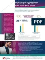 Accelerate performance on Apache Hadoop workloads with Intel Optane DC SSDs and HPE ProLiant DL380 Gen10 servers - Infographic