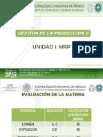 TECNOLÓGICO DE PÁNUCO GESTIÓN DE LA PRODUCCIÓN II