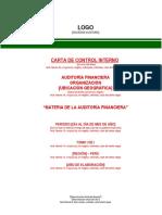 5.2 Estructura Carta Control Interno