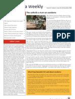 Zambia Weekly - Week 47, Volume 1, 26 November 2010