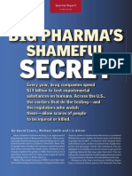 Pharmas Shameful Secret
