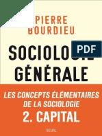 (Sociologie Générale 2) Bourdieu, Pierre - Cours Au Collège de France 1983-1986