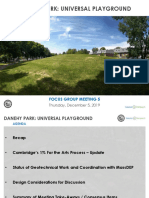 Universal Playground proposal at Danehy Park in Cambridge