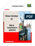Marteaux Hydrauliques Battage IHC