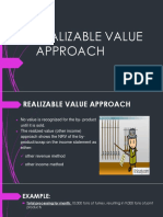 Realizable Value Approach