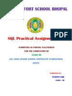 SQL Assignment