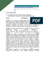LEY DE TRANSITO 18290