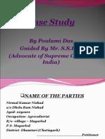 Case Study by Poulami Das