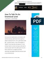 Talk On An Emotional Level.pdf