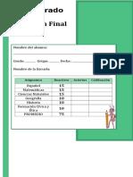 5to Grado - Examen Final (1).doc