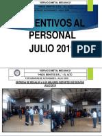 10. Programa Listo - Premiacion Julio 2019