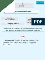 ppt on leaf disease detiction