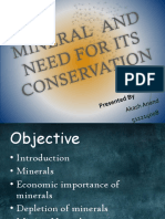 Minerals and Its Conservation12222