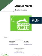 Dossier de Presse - Jeunes Verts