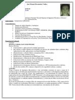 CV José Manuel 2019