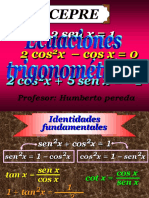 Ecuaciones trigonométricas
