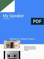 speaker reflection aaliyah silva