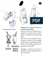 FLUME Manual Programador Riego RAINBIRD WP1 KIT