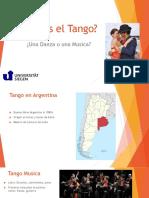 Qué es el Tango