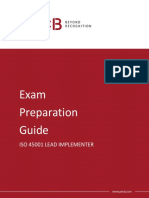 Pecb Iso 45001 Lead Implementer Exam Preparation Guide