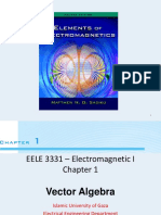 Electro Magnetic Field Theory_Chapter1