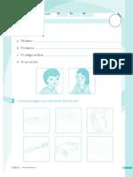 evaluación de personal social primer grado