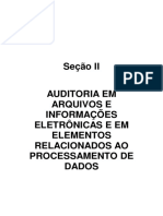 Auditoria Em Arquivos e Informações Eletrônicas