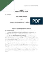 Fresh as Amended Statement of Claim (Hategan) - Feb 11, 2019