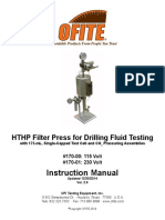 170-00 - HTHP Filter Press, 175 ML, Single-Capped, CO2