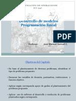 Desarrollo de Modelos