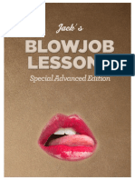 Jacks Blowjob Lessons Special Advanced Edition