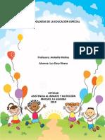 Metodologias de La Educación Especial
