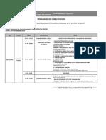 Programa Capacitación Noviembre 2019