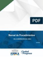 manual de procedimientos puebla