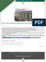 PND _ Lomé veut doubler les performances de son secteur aéroportuaire - Site officiel du Togo, République Togolaise