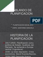 historia de la planificacion